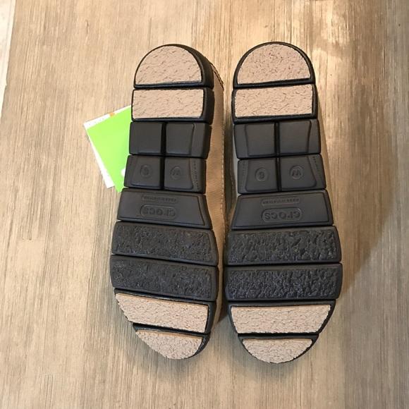 Crocs Womens Stretch Sole Skimmer Flat